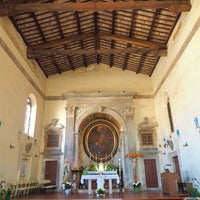 Photo taken at Chiesa Sant'Aura by Pianopia P. on 4/23/2017
