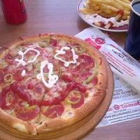 Photo taken at Pizza Tomato by Aysel U. on 1/21/2014