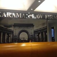 Photo taken at Karaman Law Firm by Özgül K. on 12/16/2013