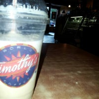 Photo taken at Timothy's World Coffee by Sarah T. on 8/21/2013