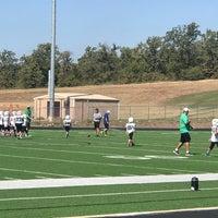 Photo taken at Guyer High School Football Field by Rebecca L. on 10/14/2017