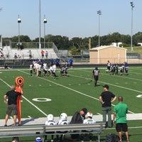 Photo taken at Guyer High School Football Field by Rebecca L. on 9/9/2017