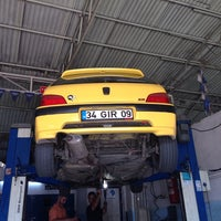 Photo taken at Ercan Oto by Recep K. on 8/23/2014