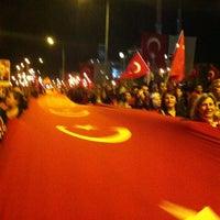 10/29/2012 tarihinde Mustafaziyaretçi tarafından Fatih Sultan Mehmet Bulvarı'de çekilen fotoğraf
