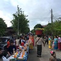 Photo taken at หมู่บ้านมอญ บ้านวังกะ by Gunn G. on 10/21/2016
