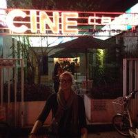 Photo taken at Cine Cafe by Julius G. on 2/3/2014