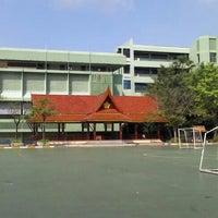 Photo taken at Taweethapisek School by daeman on 3/2/2013