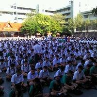 Photo taken at Taweethapisek School by daeman on 5/16/2013