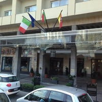 Photo taken at Amt - Excelsior Grand Hotel Catania by La R. on 9/16/2014
