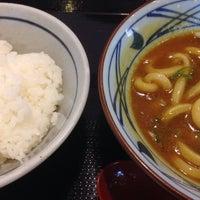 Photo taken at Marugame Seimen by Hiroyuki T. on 6/8/2014