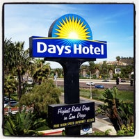 Photo taken at Days Inn San Diego Hotel Circle Near SeaWorld by J. Manuel V. on 5/4/2013