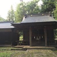 Photo taken at 作間神社 by とんぼ🍀 on 9/9/2016