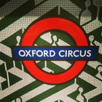 Photo taken at Oxford Circus London Underground Station by Paul T. on 5/30/2013