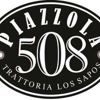 Photo taken at Piazzola 508 Trattoria by María José G. on 5/17/2014