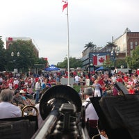 Photo taken at Memorial Square by Patrick C. on 7/1/2013