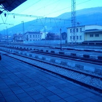 Photo taken at ЖП Гара Своге (Svoge Railway Station) by Juliqna U. on 12/18/2013