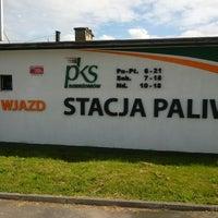 Photo taken at Stacja Paliw PKS by Maciej on 5/14/2014