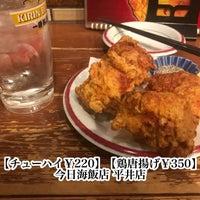 Photo taken at 今日海飯店 平井店 by †TAKU† on 5/20/2018