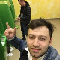 Photo taken at Сбербанк by Timur T. on 4/23/2016