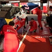 Photo taken at Rally di Sardegna - Service Park by Jerome R. on 10/18/2012