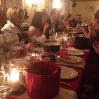 Das Foto wurde bei Hotel Europa - Restaurant Carnotzet - Saas-Fee von Jonas B. am 12/18/2013 aufgenommen