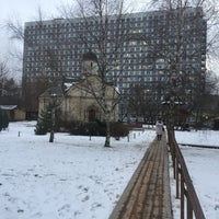 Photo taken at Храм св. мч. Трифона в Напрудном by Vsevolod Y. on 12/3/2017