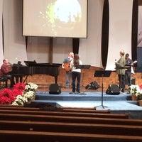 Photo taken at Lincoln Glen Church by Joseph G. on 12/15/2013