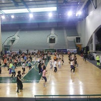 Photo taken at Matosinhos Sport - Pavilhão Municipal by Sergio P. on 4/26/2014