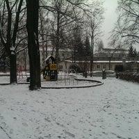 Photo taken at Spielplatz Krankenhaus Neustadt by Torsten G. on 1/25/2014