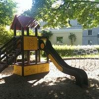Photo taken at Spielplatz Krankenhaus Neustadt by Torsten G. on 5/25/2014