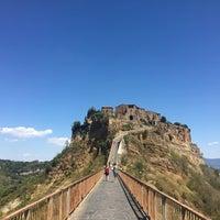 Photo taken at Civita di Bagnoregio by Qian on 8/7/2017