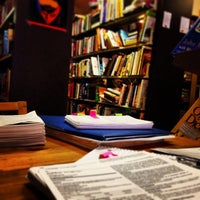 Photo taken at Crackskull's Coffee & Books by Kaity H. on 1/22/2014