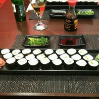 Photo taken at Sushi Time by Viktorie L. on 2/21/2017