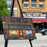 Photo taken at Old Mill Tasty Shop by Darrin H. on 4/23/2014