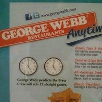 Photo taken at George Webb Restaurants by KAREN K. on 12/16/2012