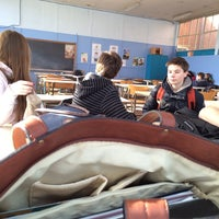 Photo taken at Studielokaal KTA by Fran V. on 2/17/2014