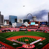 Photo taken at Busch Stadium by Andy G. on 4/9/2013