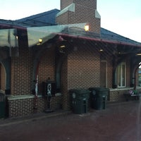 Photo taken at Frederick MARC Station by Rashad on 5/11/2015