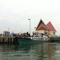 Photo taken at Koh Loi Pier by ANNable ^. on 2/24/2013