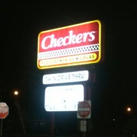 Photo taken at Checkers by Michael R. on 7/19/2013