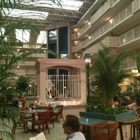 Photo taken at Embassy Suites by Hilton Atlanta Airport by Susan Leonidas T. on 7/11/2013