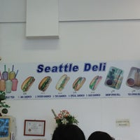 Photo taken at Seattle Deli by C.Y. L. on 9/6/2013