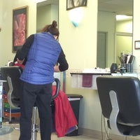 Photo taken at Lyn Hair Salon by C.Y. L. on 2/22/2015