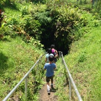 Photo taken at Hana Lava Tube (cave) by C.Y. L. on 8/25/2014