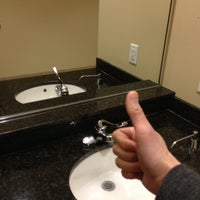 Photo taken at 3rd Floor Executive Washroom by C.Y. L. on 4/30/2013
