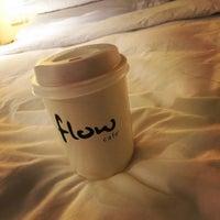 Photo taken at Flow Café by Kul2oMi on 11/9/2015