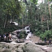 Photo taken at Kanching Waterfall by Borbungg Q. on 8/9/2017