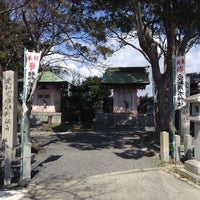 Photo taken at 愛知用水神社 by Damkichi on 3/24/2015