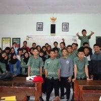 Photo taken at SMA Negeri 6 Malang by Abraham A. on 1/14/2014