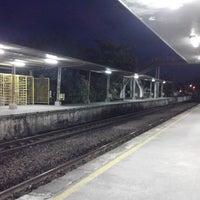 Photo taken at Estação Pontezinha (CBTU/Metrorec) by Sandro N. on 3/13/2014